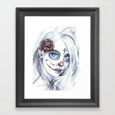 La Bella Muerte  Framed Art Print