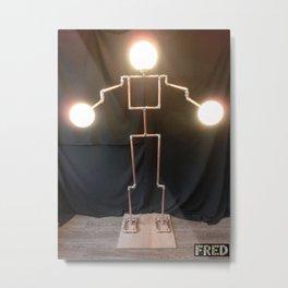 Lamp Man - FredPereiraStudios_Page_07 Metal Print