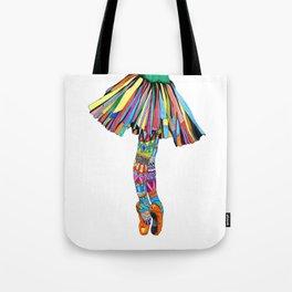 Happy Ballerina Tote Bag