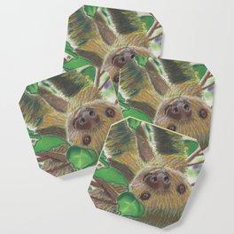 Suzie Sloth Coaster