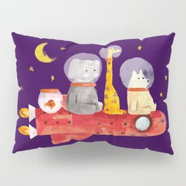 Let's All Go To Mars Pillow Sham