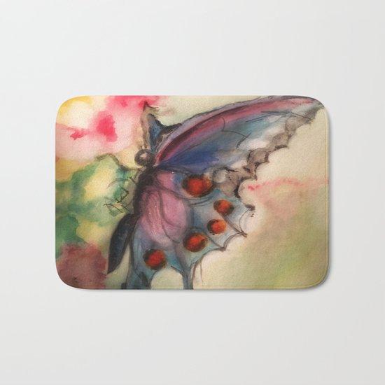 Butterfly Bath Mat