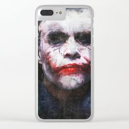 The Joker - The Clown Prince Of Gotham Clear iPhone Case