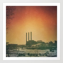 Providence Goodbye Album  Art Print