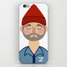 Steve Zissou 2 iPhone Skin