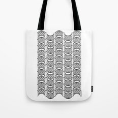 Brooklyn Williamsburgh Savings Bank Archidoodle by the Downtown Doodler Tote Bag