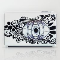 evil eye iPad Cases featuring Evil Eye by King Catastropa