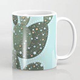 Festival Glam Cactus Coffee Mug