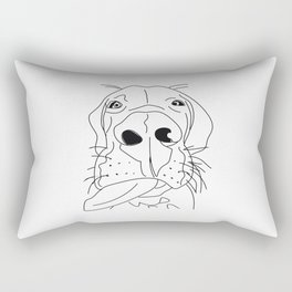 dane with attitude Rectangular Pillow
