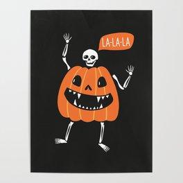 Pumpkin costume Poster