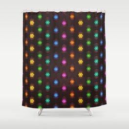 Moroccan Lanterns Pattern Shower Curtain