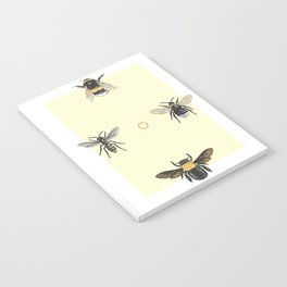Bees on bees Notebook
