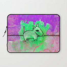 Dog No.1e by Kathy Morton Stanion Laptop Sleeve