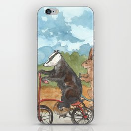 Bike Race iPhone Skin