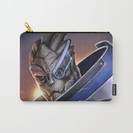 Garrus Vakarian Portrait - Mass Effect Carry-All Pouch