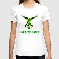 jamaica T-shirts featuring Jamaica Jamaica Jamaica by cleopetradesign.com