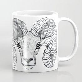 Ram Head Coffee Mug