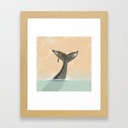 Tail Tale Framed Art Print