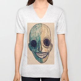grin and- Unisex V-Neck