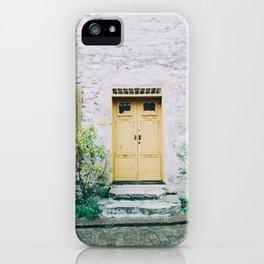 Visby Doorway iPhone Case