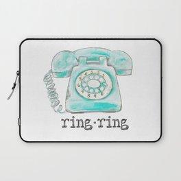 Vintage hone Ring Ring Laptop Sleeve