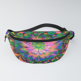 Abstract Flower Fanny Pack