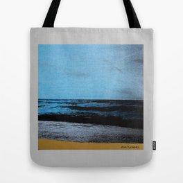 Blue sky, blue sea Tote Bag