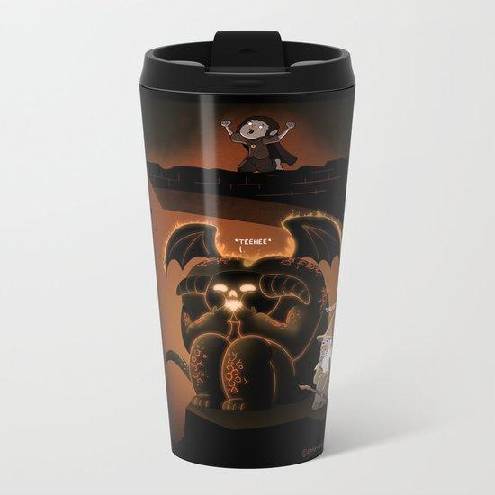 Wizardly Shenanigans Metal Travel Mug