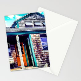 Relaxing at Zeland Hut  Stationery Cards