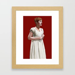 Sonya is Good Framed Art Print