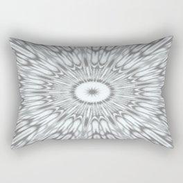 Gray Kaleidoscope Rectangular Pillow