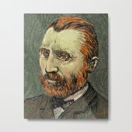 Van Gogh II Metal Print