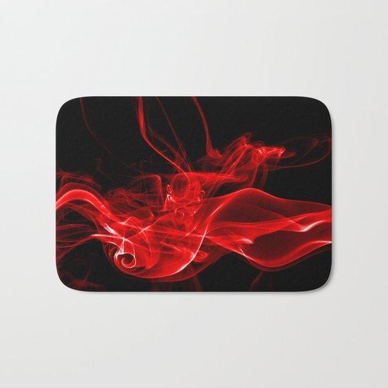 Red Smoke Bath Mat