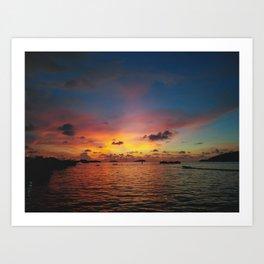 Kinabalu Art Print