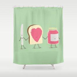 spread the love Shower Curtain