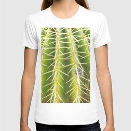 Details of cactus spines T-shirt