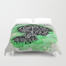 New World Rising - A Book Duvet Cover