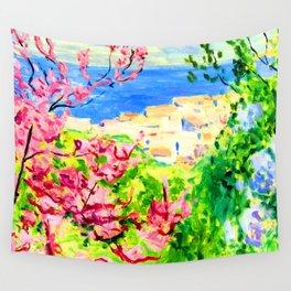Albert Marquet Pink Tree Wall Tapestry