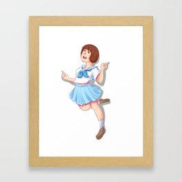 Mako Mankanshoku Framed Art Print