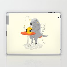Honeybadger à Paris Laptop & iPad Skin