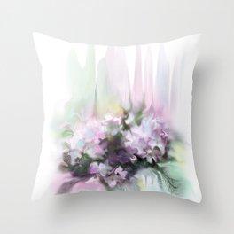 lilac2 Throw Pillow