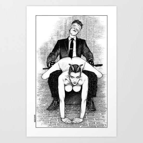 asc 642 - L'après-midi d'un faune (The perfomers III) Art Print
