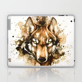 """Into the mirror"" n°1 The wolf Laptop & iPad Skin"