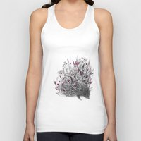 hedgehog Tank Tops featuring Hedgehog by Linette No
