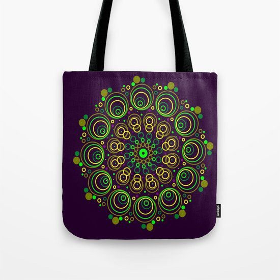 Deep Purple Tote Bag