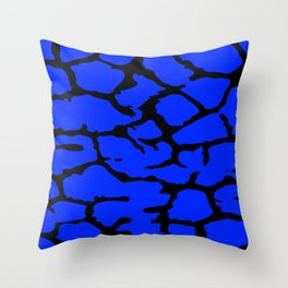 Mackerel Spot Pattern Throw Pillow