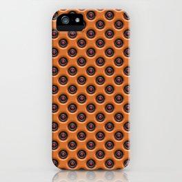 Orange dots iPhone Case