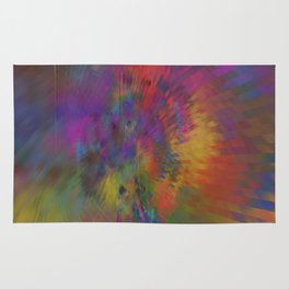 the eye of the universe Rug