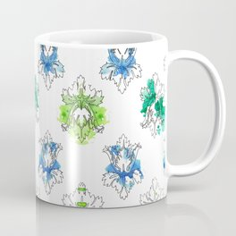 Sherlock Rorschach Wallpaper Lilies Coffee Mug