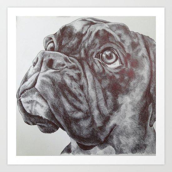 Highbury Art Print